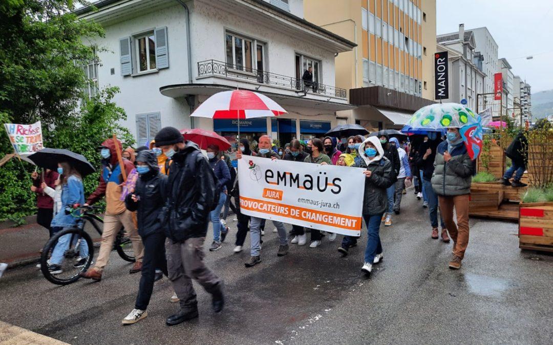 Action de terrain d'Emmaüs Jura