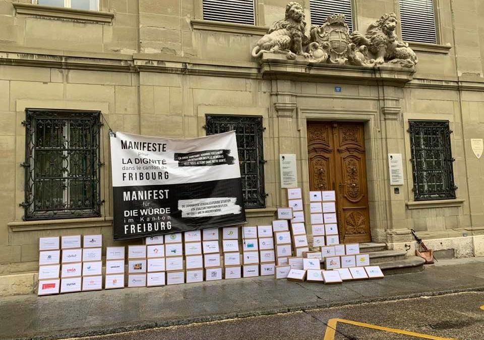 Emmaüs Fribourg s'engage pour un canton FR plus humain, plus solidaire